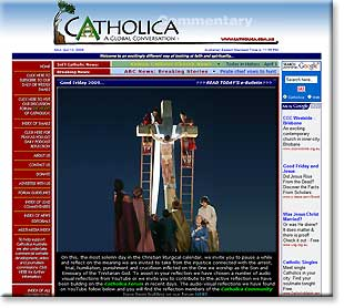 Catholica website